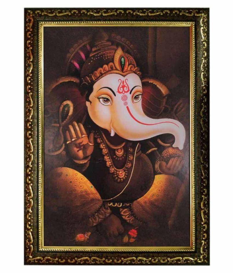 Ganesh Ji Photo Frame Fachriframe Co