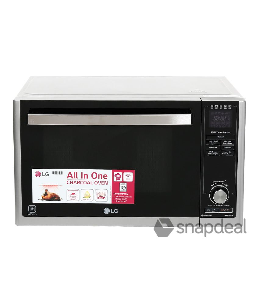 lg 32 ltr mj3283cg convection microwave oven