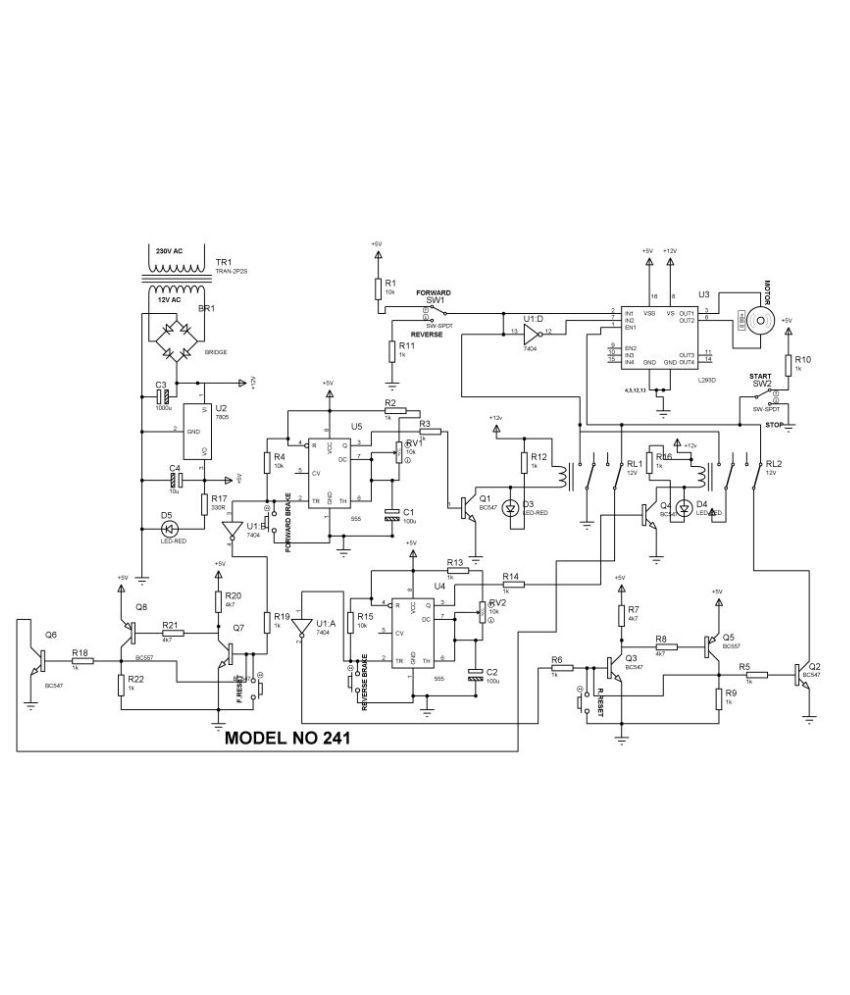 4 Quadrant Operation Of Dc Motor