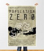 Population Zero movie poster design 1