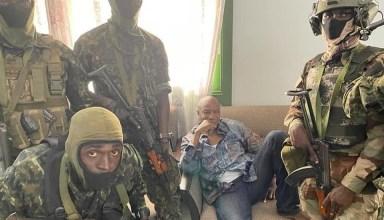 ألفا كوندي رئيس غينيا