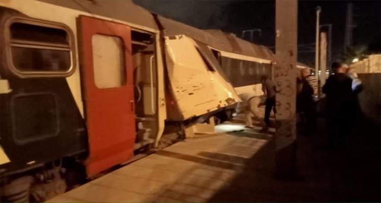 حادث اصطدام قطارين