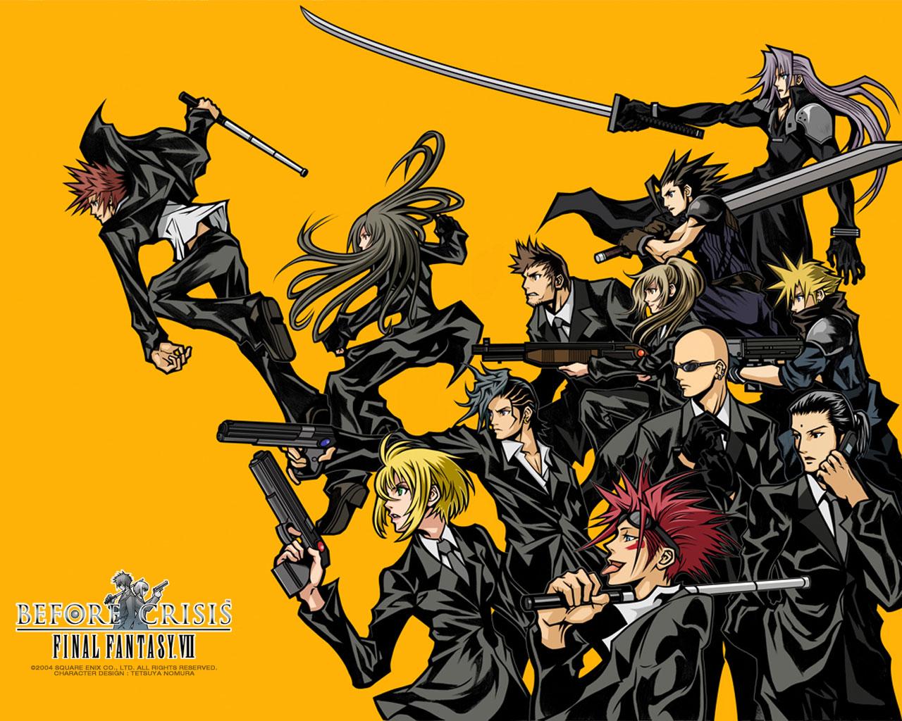 Before Crisis: Final Fantasy VII. Probabile Remake per 3DS