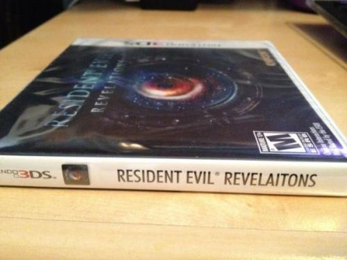 Revelaitons Resident Evil Revelation