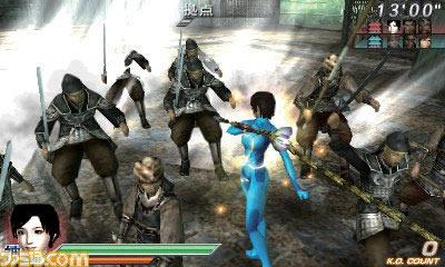 Samus e Link in Dynasty Warriors Vs.
