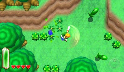 The Legend of Zelda Link to the Past 3DS