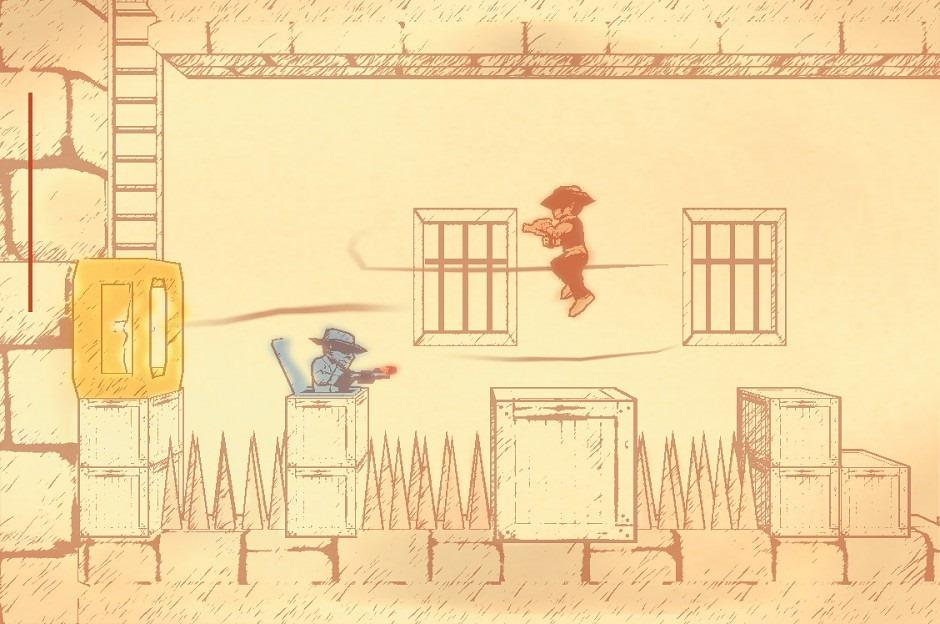 Un Gunman Clive HD su Wii U