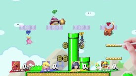 Livello di Mario Maker in Super Smash Bros