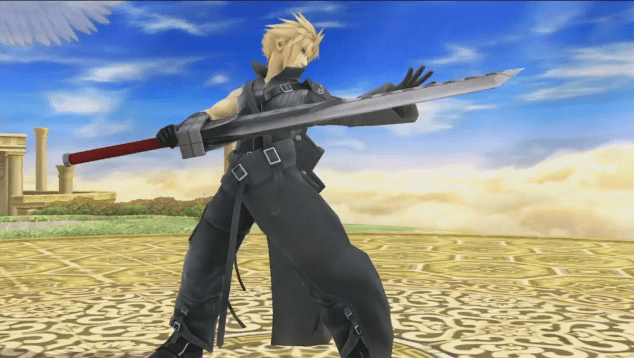 Cloud Strife Arriva in Super Smash Bros.