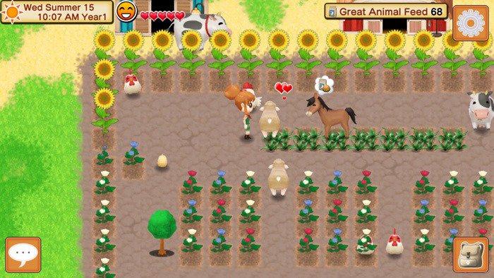 Screen di Harvest Moon: Seeds of Memories