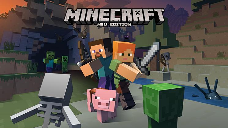 Minecraft Arriva su Wii U