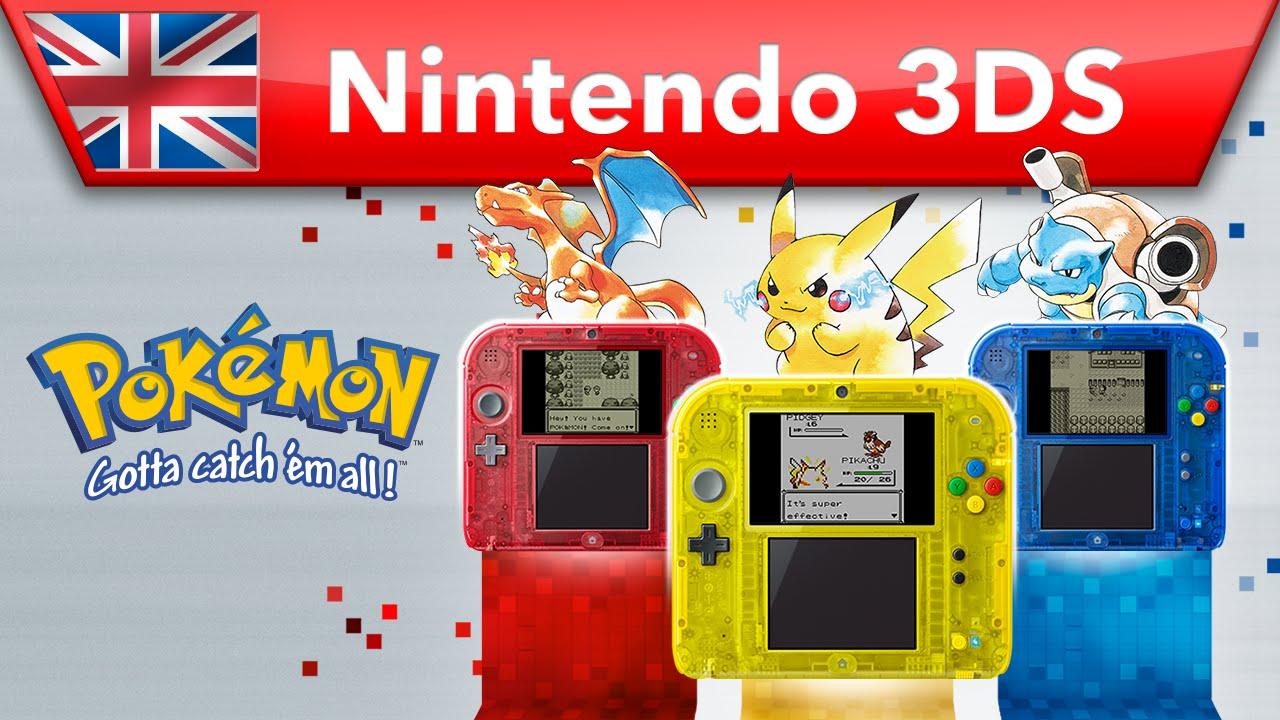 Trailer di Pokémon Blu, Rosso e Giallo Mostra i Momenti Salienti dei Tre Giochi