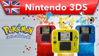 Trailer di Pokémon Blu, Rosso e Giallo