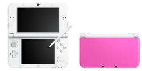 Nuovi Colori per New Nintendo 3DS pink