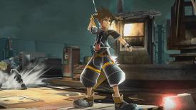 Sora in Super Smash Bros