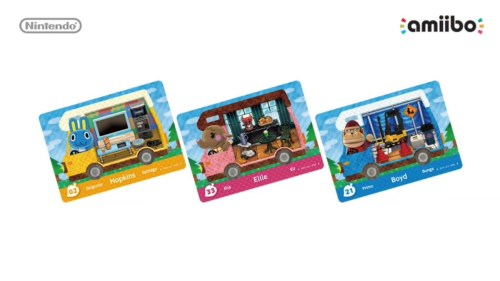 Supporto Amiibo per Animal Crossing New Leaf