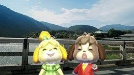 Amiibo Camera in Animal Crossing