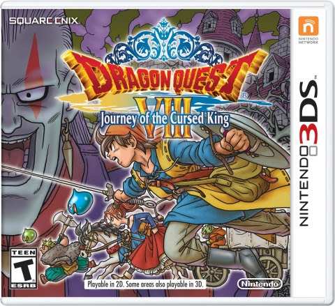 Data di Dragon Quest VIII: Journey of the Cursed King