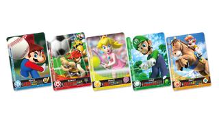 Carte Amiibo in Mario Sports Superstars