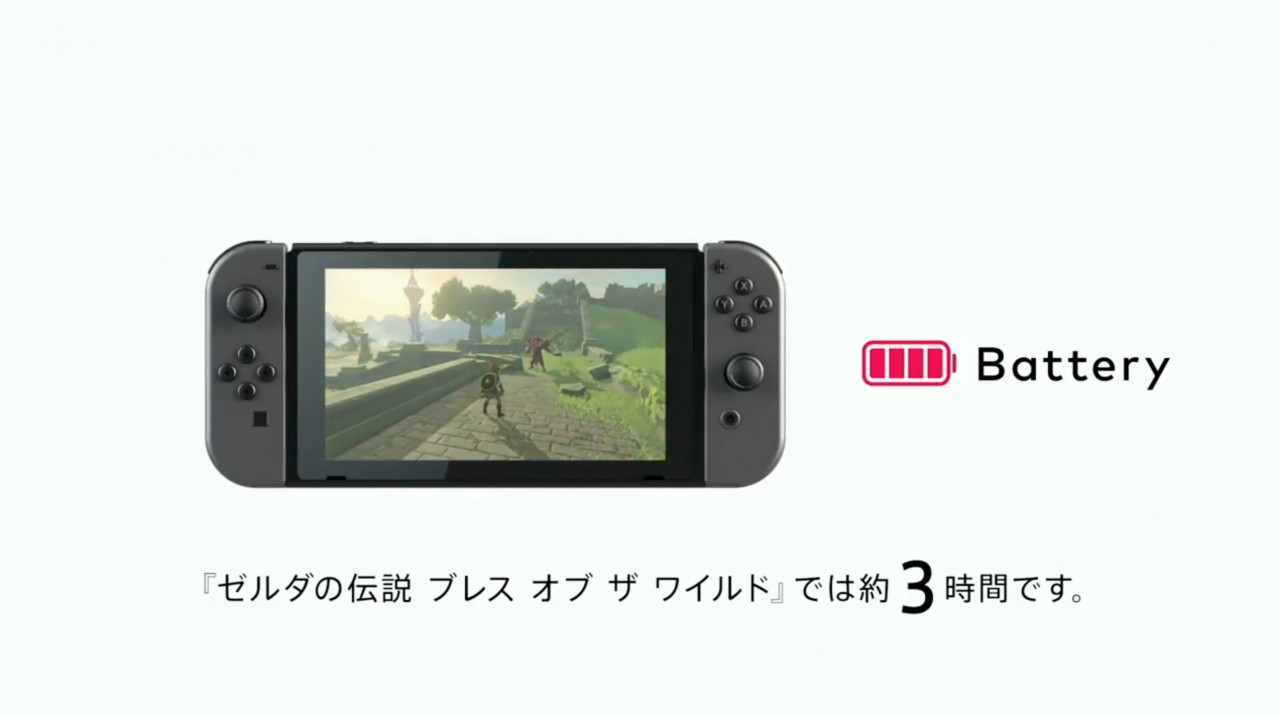 Durata della Batteria di Nintendo Switch