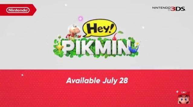 Il Nuovo Gioco dei Pikmin per Nintendo 3DS si Chiama Hey Pikmin