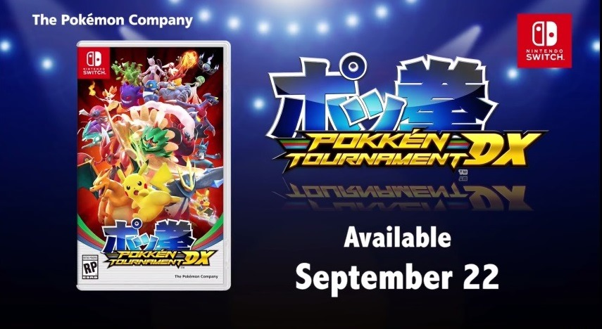 Pokkén Tournament DX su Nintendo Switch a Settembre