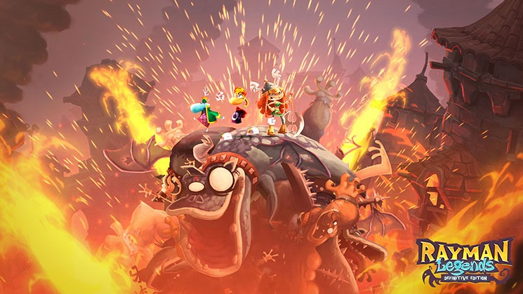 Rayman Legends Definitive Edition Scovato nel Nintendo Switch eShop