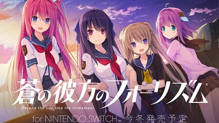 Aokana Four Rhythm Across the Blue Nintendo Switch