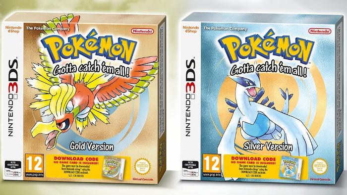 Versione in Scatola per Pokémon Gold e Pokémon Silver su Virtual Console