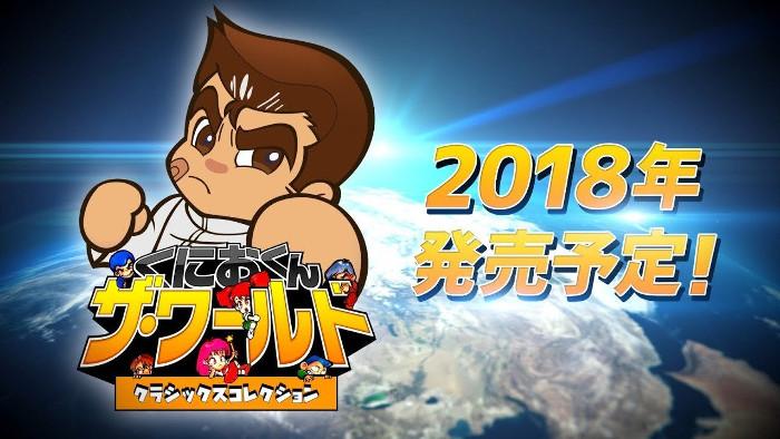 Kunio-kun: The World Classics Collection Annunciato per Nintendo Switch