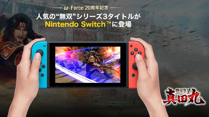 Dynasty Warriors 8: Empires, Samurai Warriors: Spirit of Sanada, e Warriors Orochi 3 Ultimate Arrivano su Nintendo Switch