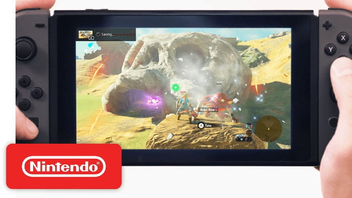 Nintendo Switch può Catturare Video
