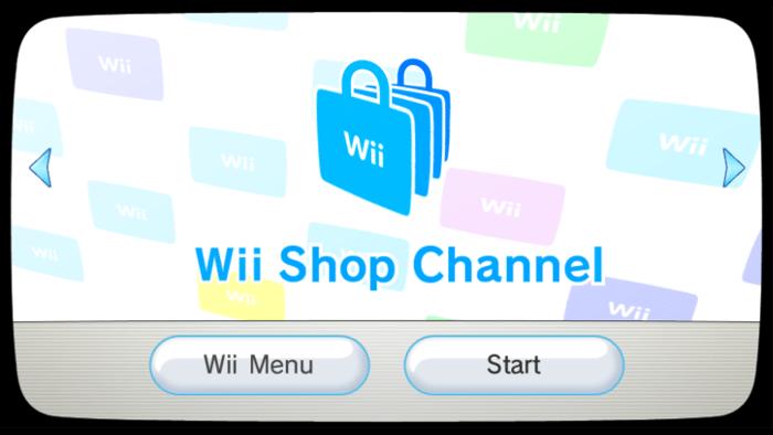 Inizia la Chiusura del Wii Shop Channel