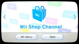 Wii Shop Channel Nintendo Wii eShop