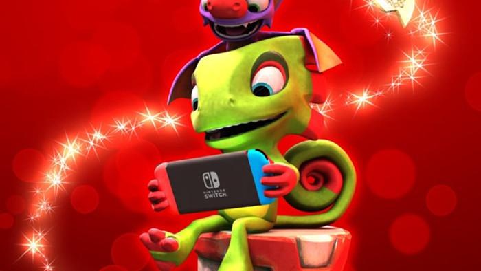 Yooka-Laylee Arriva su Nintendo Switch il 14 Dicembre