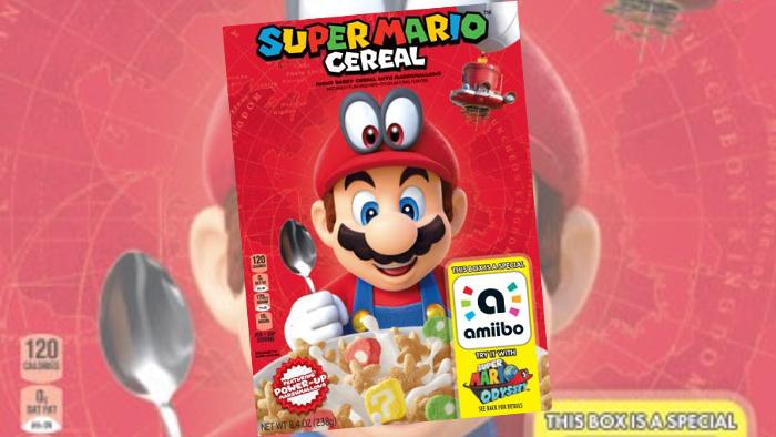 Cereali di Super Mario con Amiibo Incorporato
