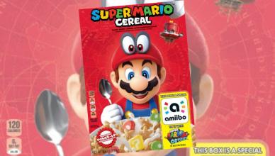 cereali di Super Mario Super Mario Odyssey Nintendo Switch Kellogg's