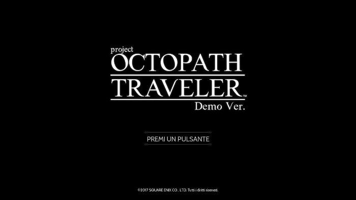 project OCTOPATH TRAVELER - Un Interessante RPG