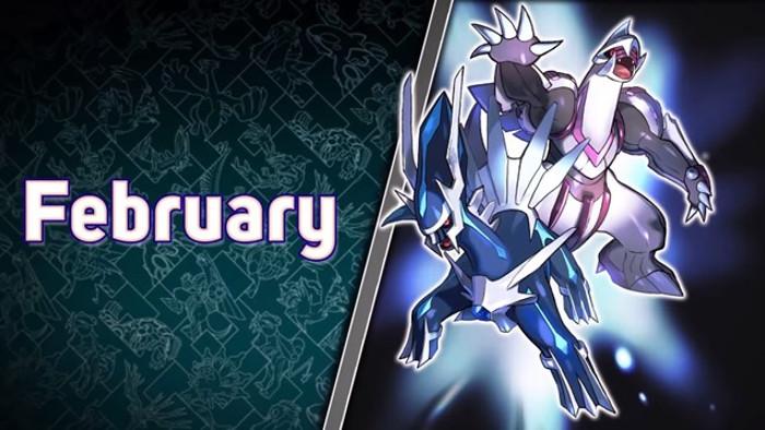 Evento per Pokémon Leggendari a Febbraio