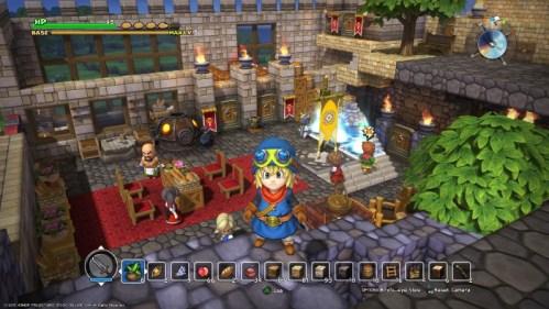 Nintendo Switch PhyreEngine Dragon Quest Builders