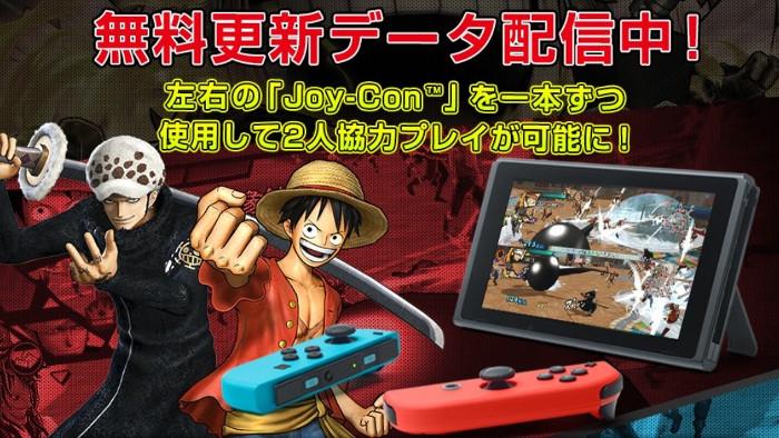 One Piece: Pirate Warriors 3 Deluxe Edition si Potrà Giocare in Cooperativa con Soli 2 Joy-Con