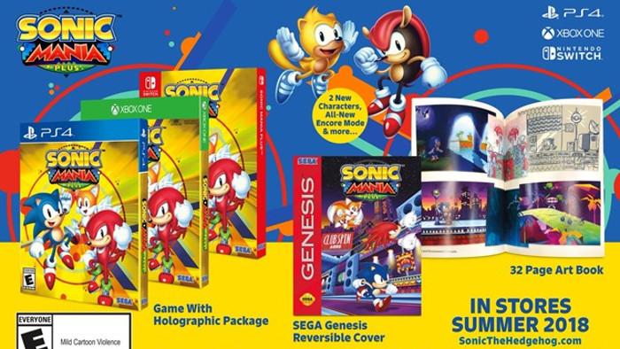 Sega Ha Annunciato l'Arrivo di Sonic Mania Plus