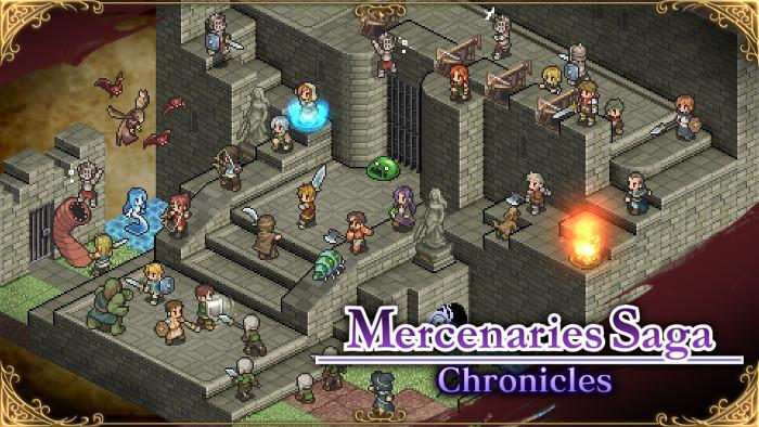 Versione Fisica di Mercenaries Saga Chronicles per Nintendo Switch