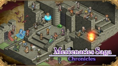 Mercenaries Saga Chronicles Nintendo Switch