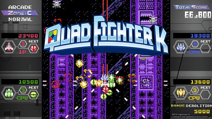 Quad Fighter K uno Shoot'em Up in Arrivo su Nintendo Switch