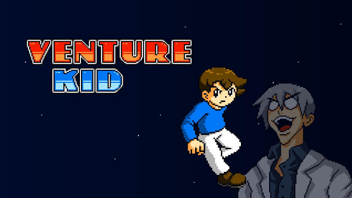 Venture Kid in Esclusiva su Nintendo Switch