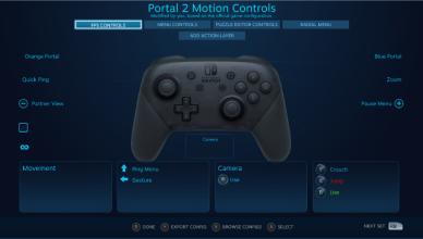 steam nintendo switch pro controller
