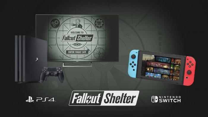 Fallout Shelter Arriva su Nintendo Switch e PlayStation 4