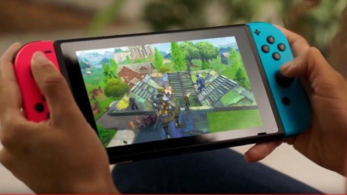 Fortnite per Nintendo Switch Scaricato 2 Milioni di Volte