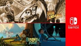 Broken Age Grim Fandango Remastered Nintendo Switch